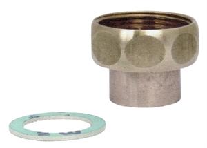 Picture of Schroefkoppeling met soldeertuit en wartelmoer