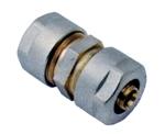 Afbeelding van Messing koppelingen met knelring voor PEX/PERT-buis recht