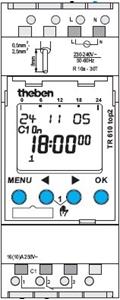 Picture of Digitale Schakelklok Theben TR610 TOP2