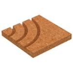 Afbeelding van Vloerverwarming systeemplaat voor hoek 90 graden