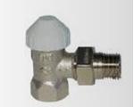 Afbeelding van Thermostaatventiel recht of haaks