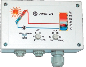 Picture of TA ANS21 solar controller