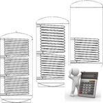 Afbeelding van Berekening boiler warmtewisselaar oppervlakte warmte aanvoer