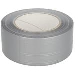 Afbeelding van Textiel-kracht-tape rol 50 m x 50 mm, zilvergrijs