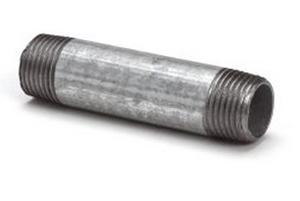 Picture of Dubbel buisnippel conische schroefdraad