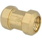 Afbeelding van Knelkoppeling voor PE-buizen met MS ring, koppelstuk