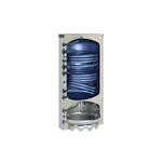 Afbeelding van Warmtepomp-combinatieboiler 400 l met 2 buiswarmtewisselaars zilver