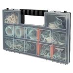 Afbeelding van Pakkingassortiment in kunststofbox 7 soorten met 255 fiber-pakkingen