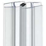 Afbeelding van Universele afdichting voor douchedeuren met magnetische sluitstrip 90°