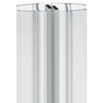 Afbeelding van Universele afdichting voor douchedeuren met magnetische sluitstrip 135°
