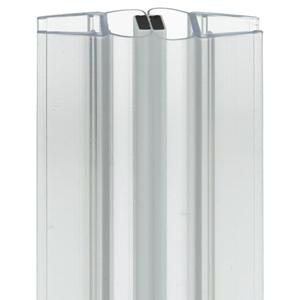 Picture of Universele afdichting voor douchedeuren met magnetische sluitstrip 180°