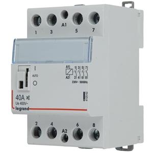 Picture of CX3 installatiebescherming 40 A, zonder bromgeluid, 4 NO contacten